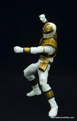 Power Rangers Lightning Collection White Ranger figure review - punching