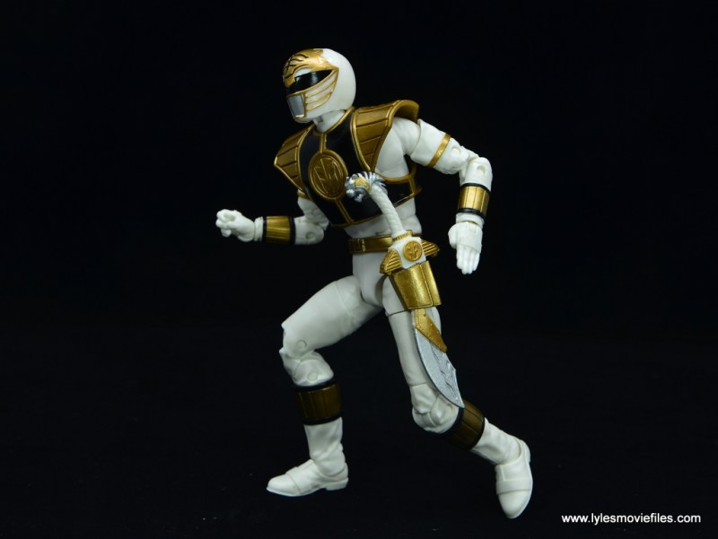 Power Rangers Lightning Collection White Ranger figure review -time to get mighty