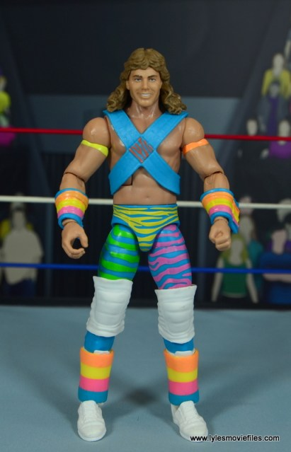 WWE RetroFest Shawn Michaels figure review -front