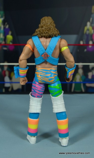 WWE RetroFest Shawn Michaels figure review - rear