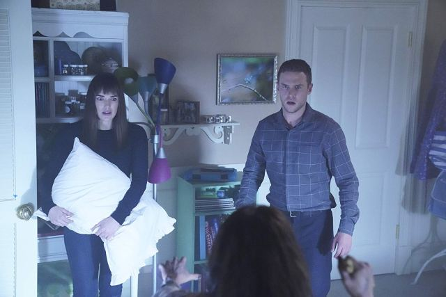 agents of shield inescapable review - simmons and fitz