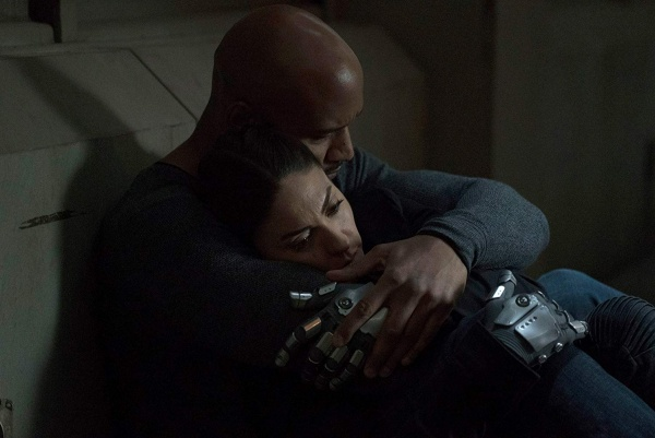 agents of shield the end review - mack and elena