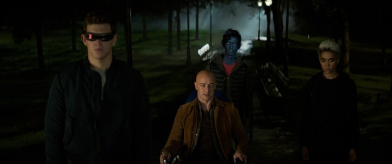 dark phoenix movie review -cyclops. professor x, nightcrawler and storm