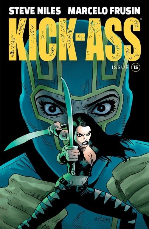 kick ass #15 cover