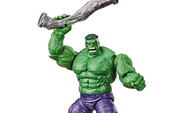 Check out the SDCC 2019 Marvel Legends Hulk and LEGO Captain Marvel