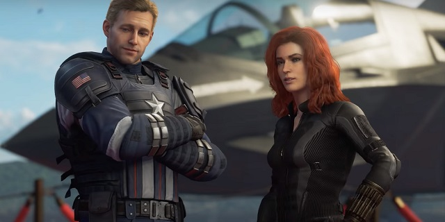 marvel's avengers - captain america and black widow
