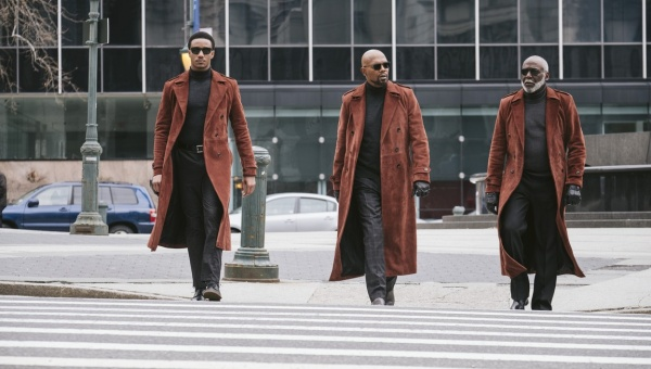 shaft 2019 movie review - jesse t usher, samuel l jackson and richard roundtree
