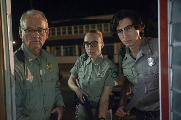 the dead don't die movie review - bill murray, chloe sevigny and adam driver