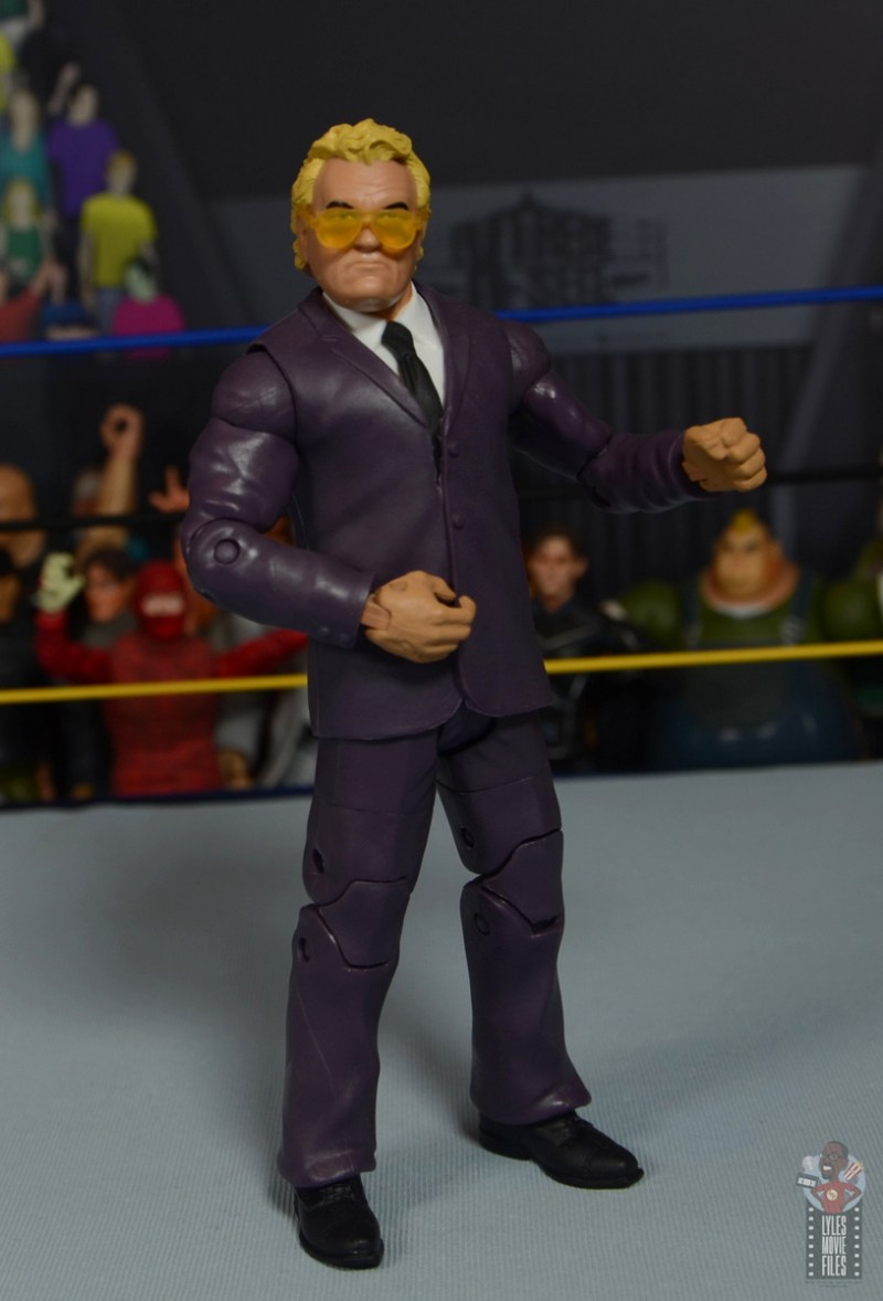 wwe build-a-figure jj dillon figure review - turning