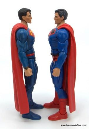 DC Multiverse Kingdom Come Superman figure review - facing rebirth superman