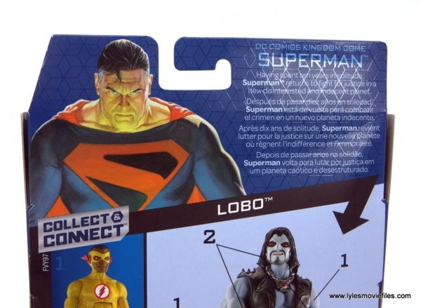 DC Multiverse Kingdom Come Superman figure review - package bio
