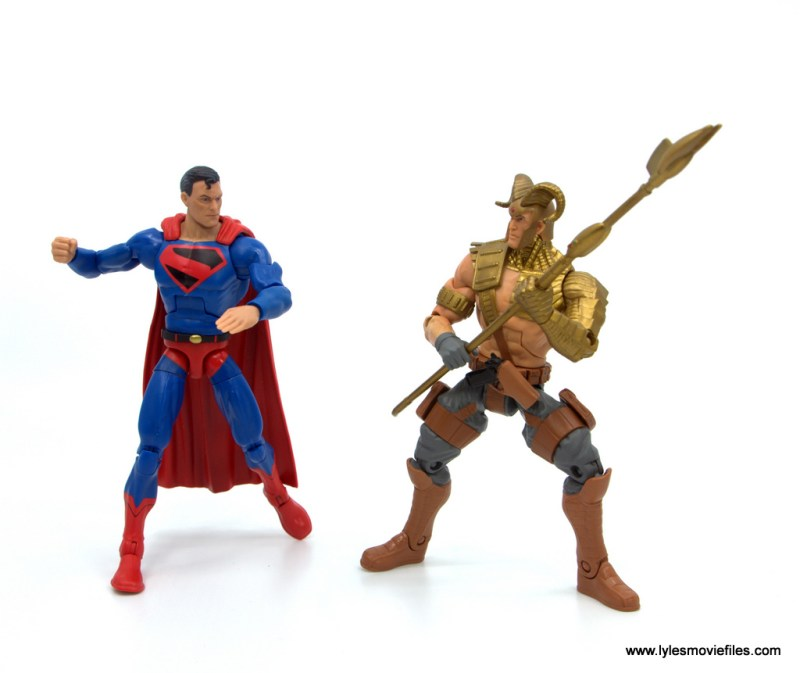 DC Multiverse Kingdom Come Superman figure review - vs magog