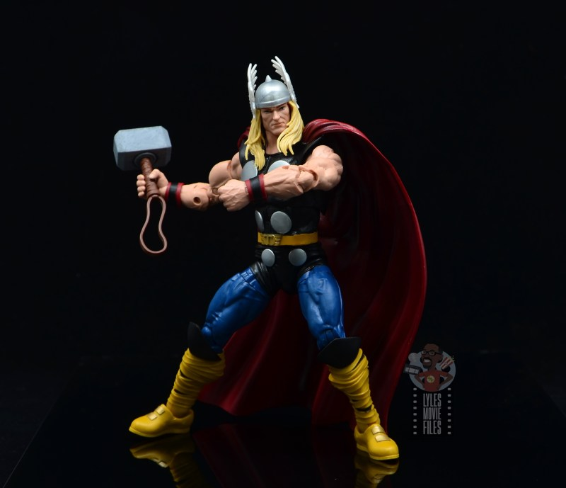 Marvel Legends 80th Thor figure review - battle ready time