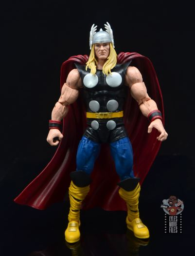 Marvel Legends 80th Thor figure review - front