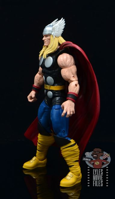 Marvel Legends 80th Thor figure review - left side
