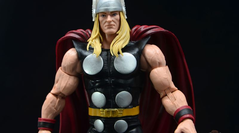Marvel Legends 80th Thor figure review - main pic