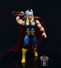 Marvel Legends 80th Thor figure review - preparing to drop the hammer