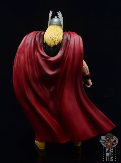 Marvel Legends 80th Thor figure review - rear