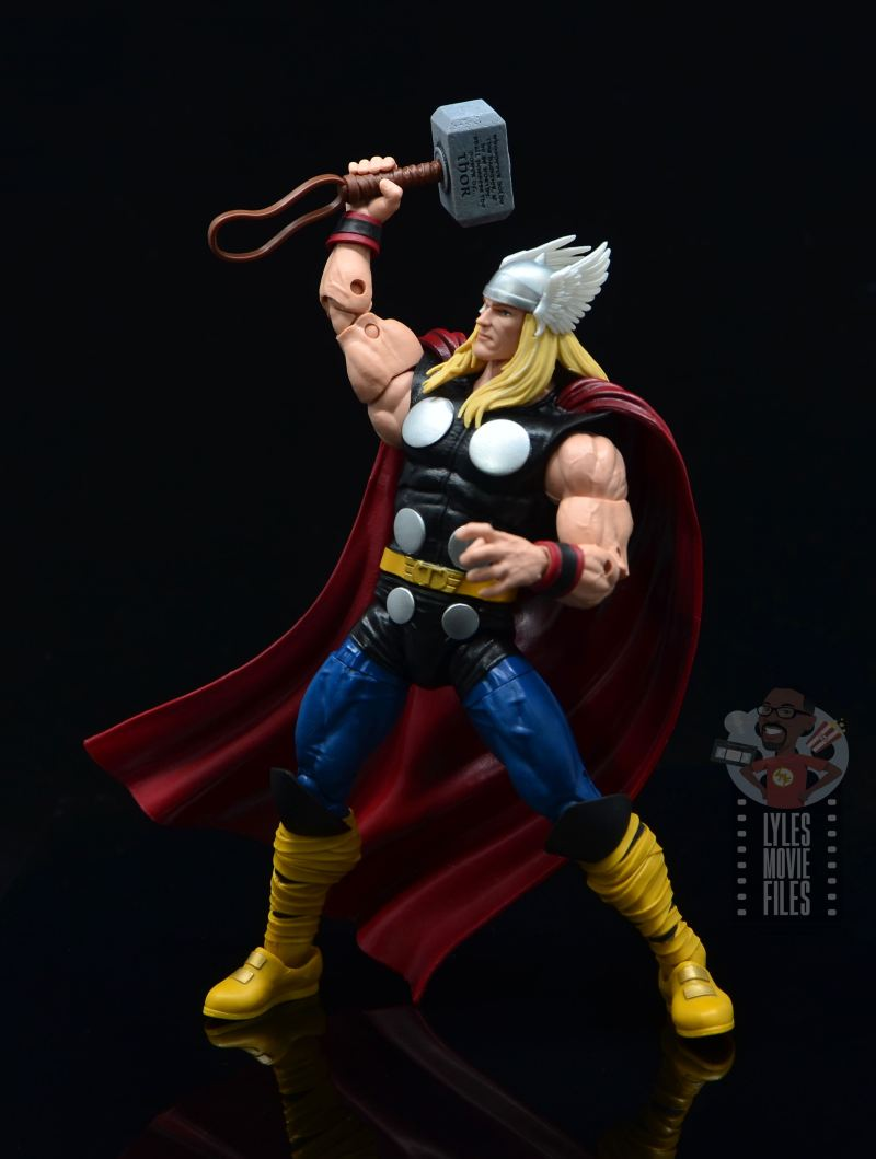 Marvel Legends 80th Thor figure review - summoning lightning