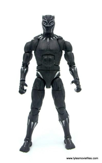 Marvel Legends Black Panther BAF Okoye figure review - front