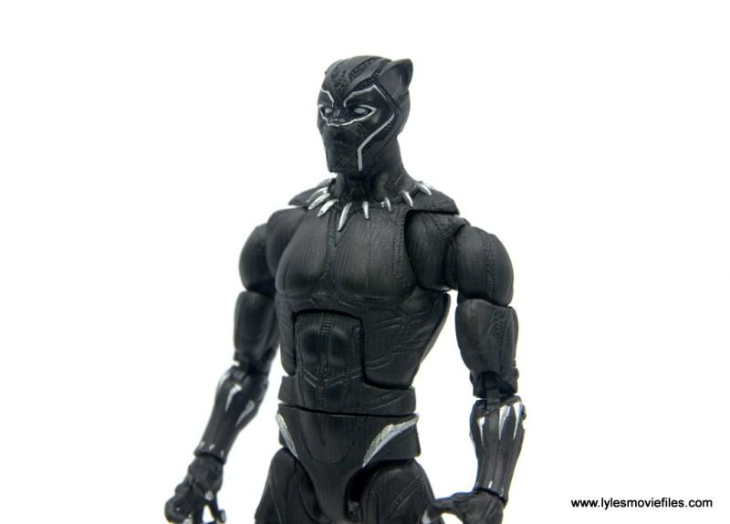 Marvel Legends Black Panther BAF Okoye figure review - outfit detail
