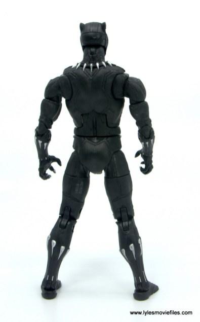 Marvel Legends Black Panther BAF Okoye figure review - rear