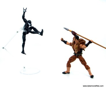 Marvel Legends Kraven and Spider-Man two-pack figure review - spider-man vs kraven