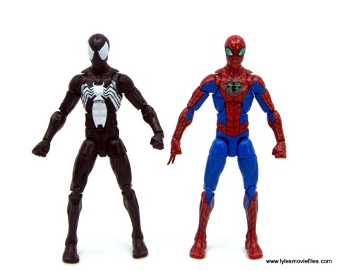 Marvel Legends Kraven and Spider-Man two-pack figure review - spidero-man comparison