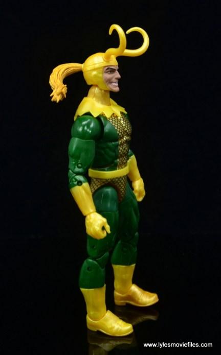 Marvel Legends Loki figure review - right side