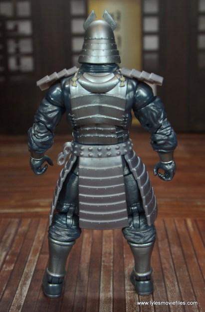 Marvel Legends Silver Samurai figure review - rear
