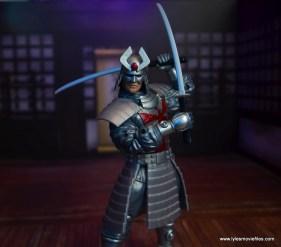 Marvel Legends Silver Samurai figure review - swords ready