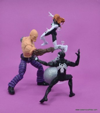 Marvel Legends Spider-Woman figure review - vs absorbing man