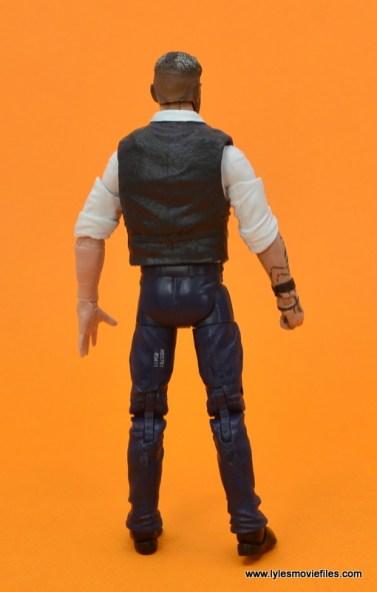 Marvel Legends Ulysses Klaue figure review - rear