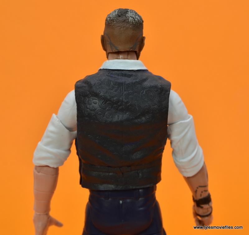 Marvel Legends Ulysses Klaue figure review - vest detail