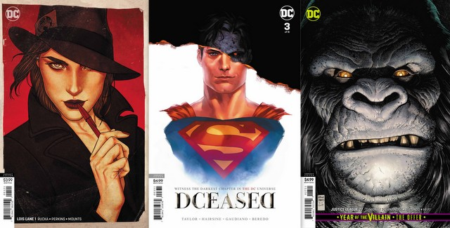 dc comics reviews 7/3/19