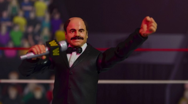WWE Howard Finkel The Fink figure review - main pic