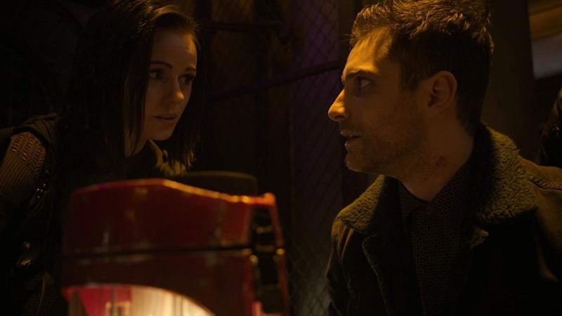 agents of shield collision course part 1 review - snowflake and deke