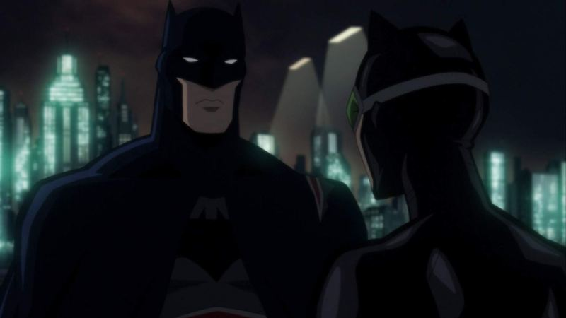 batman hush review - batman and catwoman