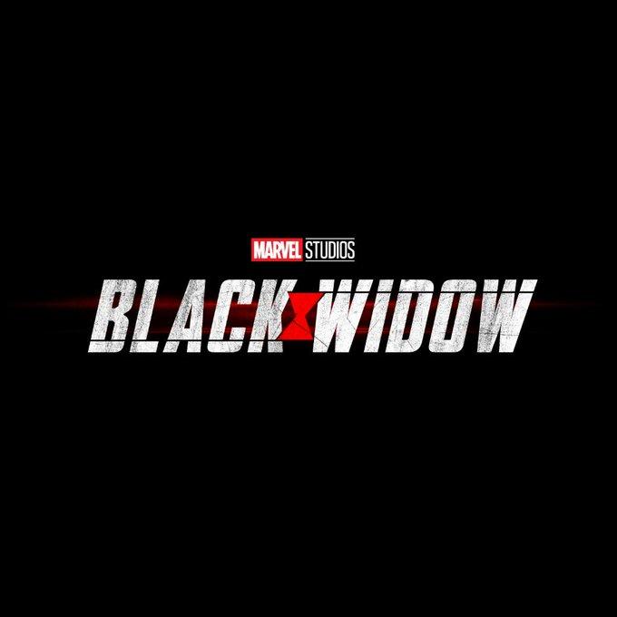 black widow title logo