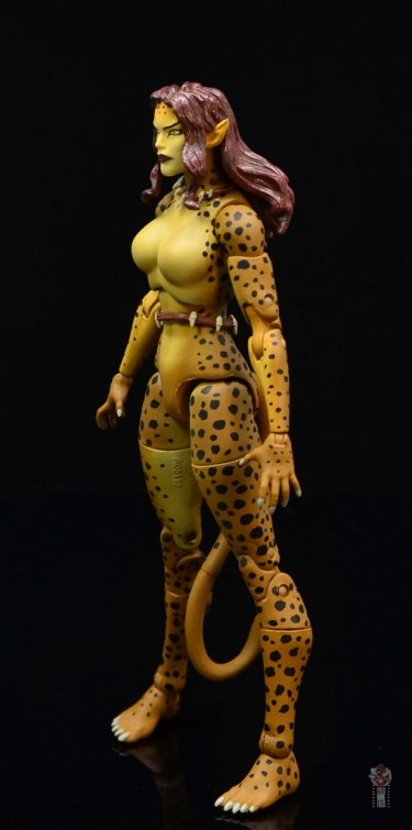 dc essentials cheetah figure review - left side