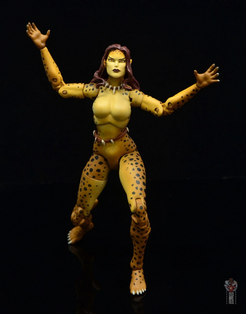 dc essentials cheetah figure review - pouncing
