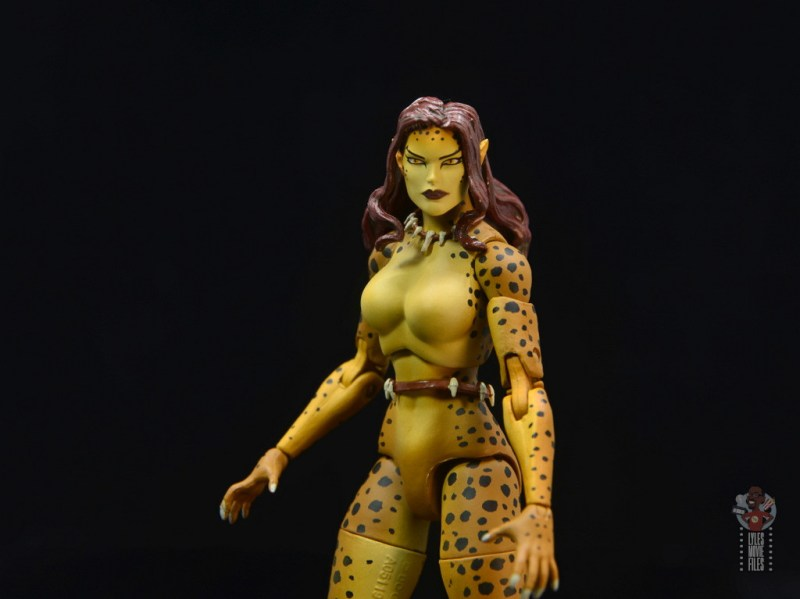 dc essentials cheetah figure review - wide
