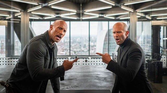 fast and furious - hobbs and shaw review - hobbs and shaw arguing