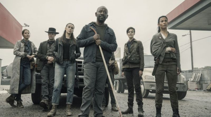 fear the walking dead the little prince review - june, john, alicia, morgan, al and luciana