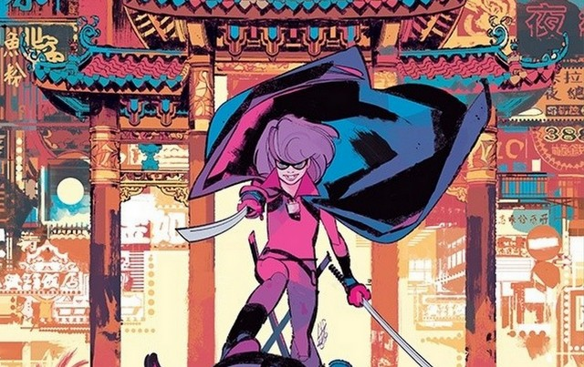 hit-girl season 2 #6 variant cover