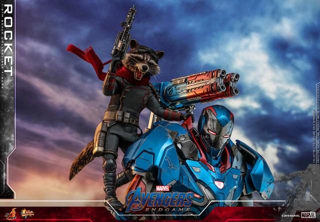 hot toys avengers endgame rocket figure - main pic