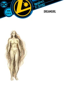 legion of super heroes redesigns - dream girl
