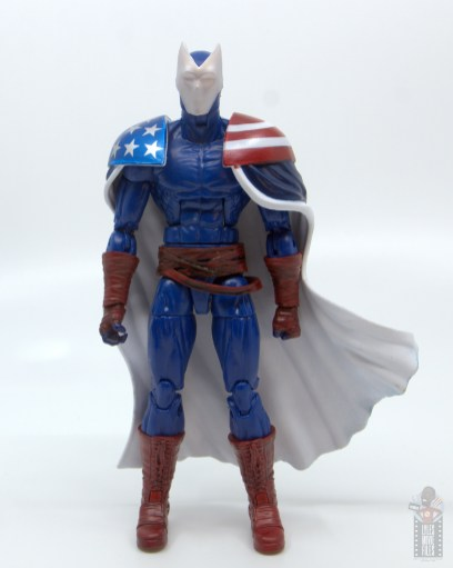 marvel legends citizen v figure review - front