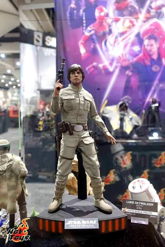 sdcc 2019 hot toys reveals - empire strikes back luke skywalker