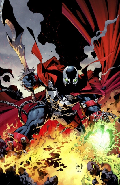 spawn #300 cover no title treatment